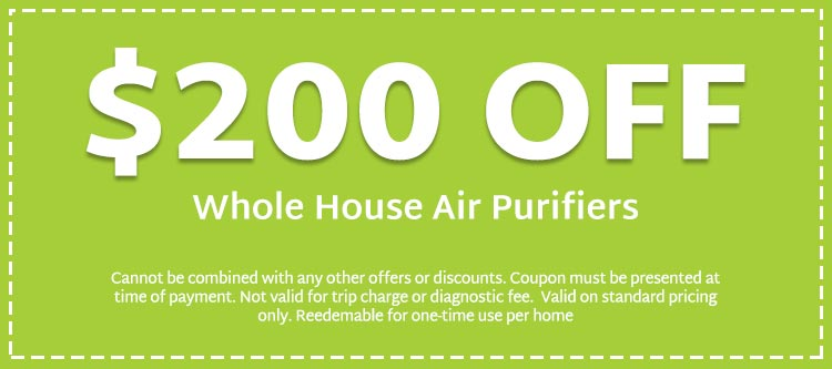 discount on whole house air purifiers